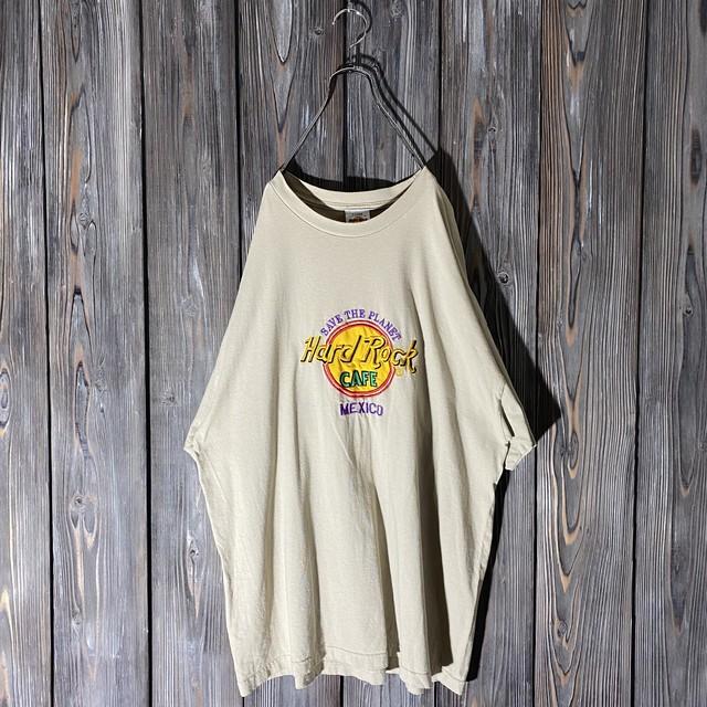 [Hard Rock Cafe]Mexico beige T shirt
