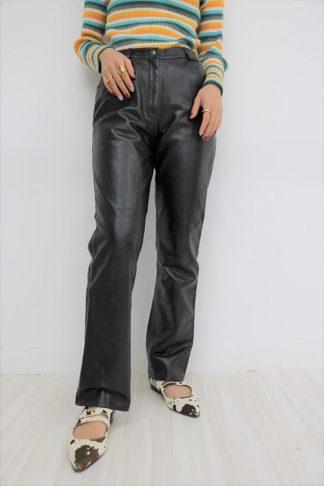 leather pants / PT10280008
