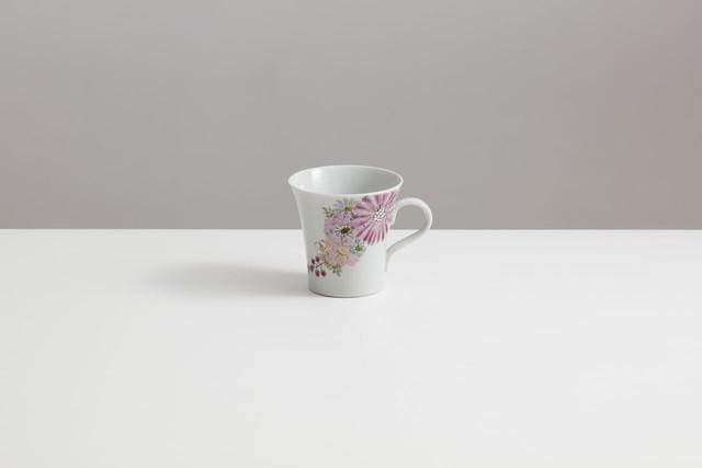九谷フェス マグカップ 華 紫SALE-15