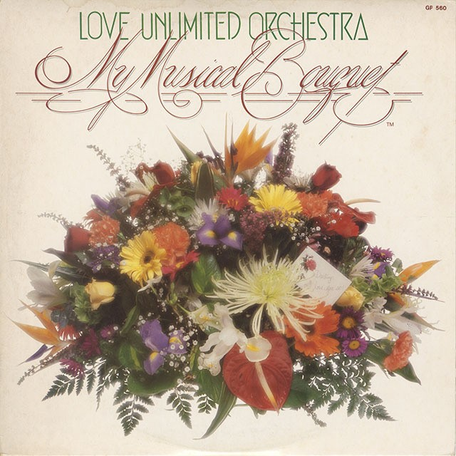 Love Unlimited Orchestra  / Musical Bouquet (LP) Promo
