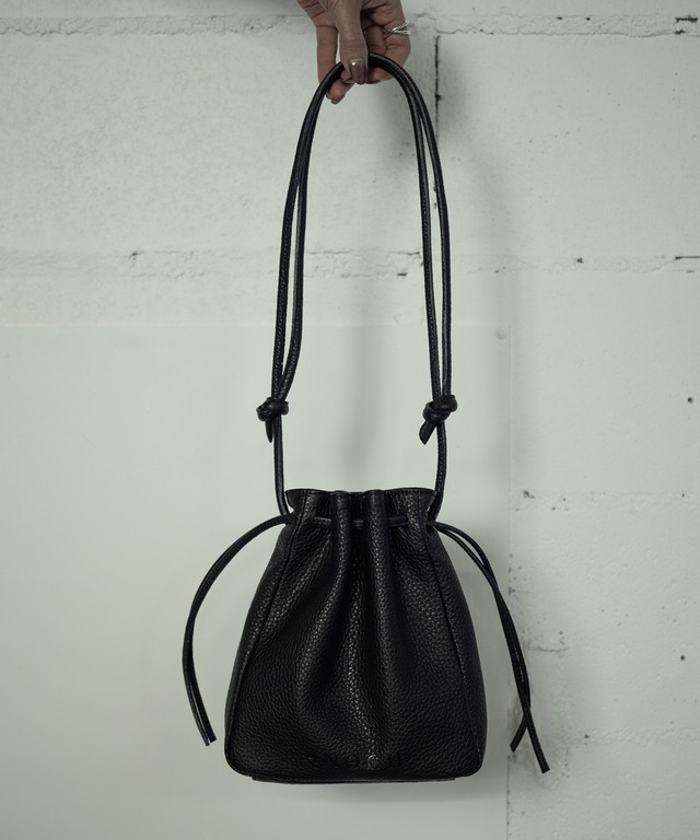 RETHINK LEATHER BAG (BLACK)