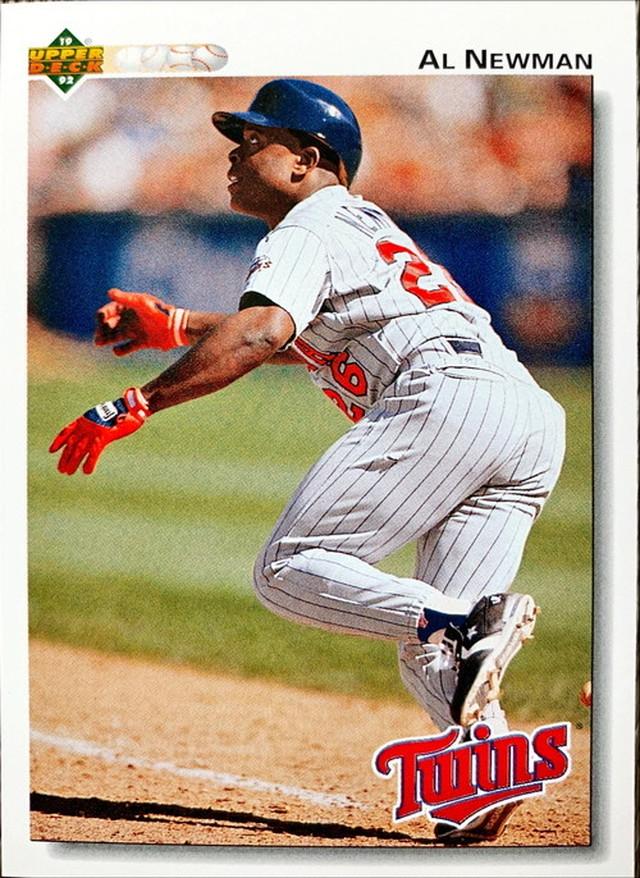 MLBカード 92UPPERDECK Al Newman #293 TWINS