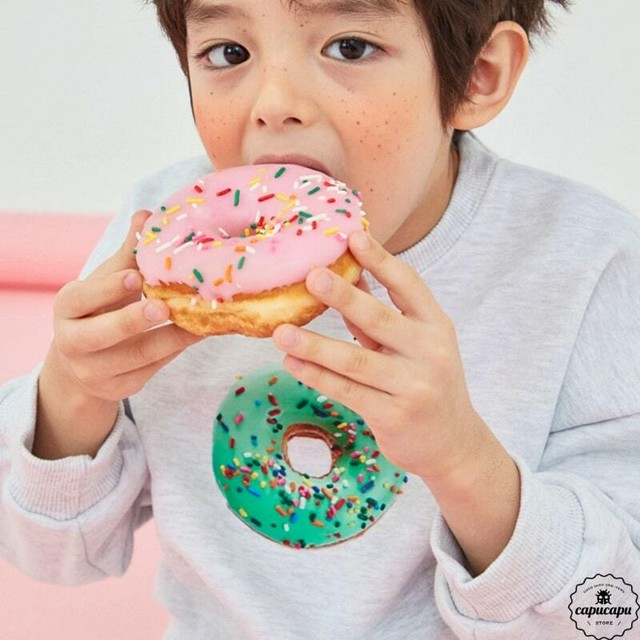 «sold out» donuts sweat 2colors ドーナツスウェット
