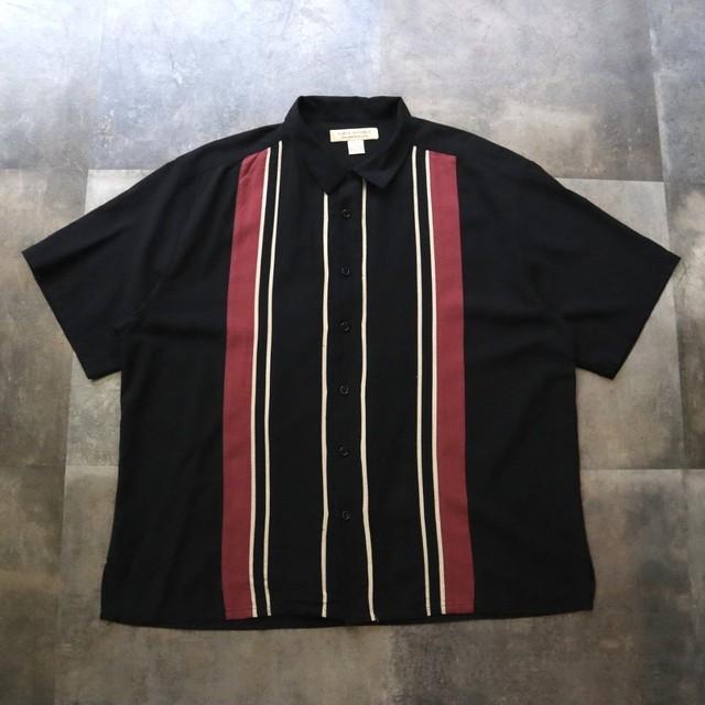 Black front line shirt