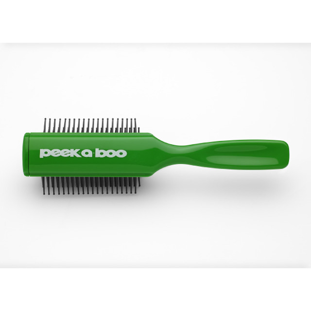 CERAMIC PIN BRUSH (GREEN)
