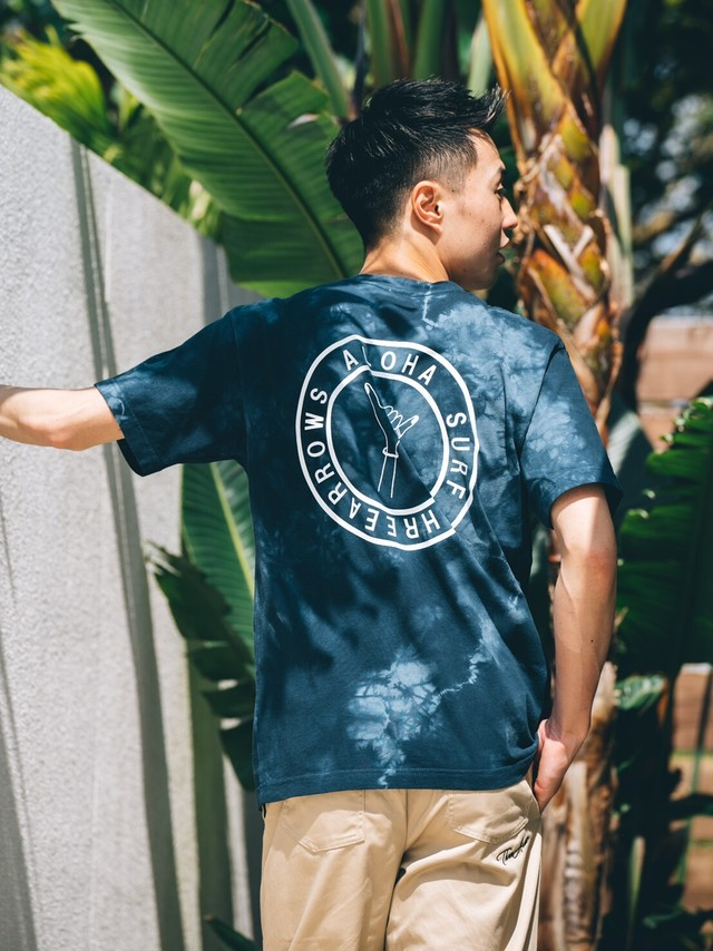 【5/5(WED)20:00 販売開始】ALOHA SURF tie-dye S/S TEE (orange)
