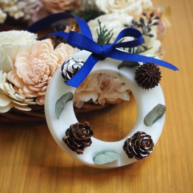 【wisterio+aroma】アロマワックスサシェ・11月作品④