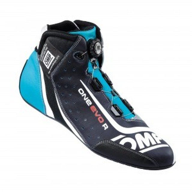 IC/805246 ONE EVO R SHOES BLUE/SILVER/CYAN