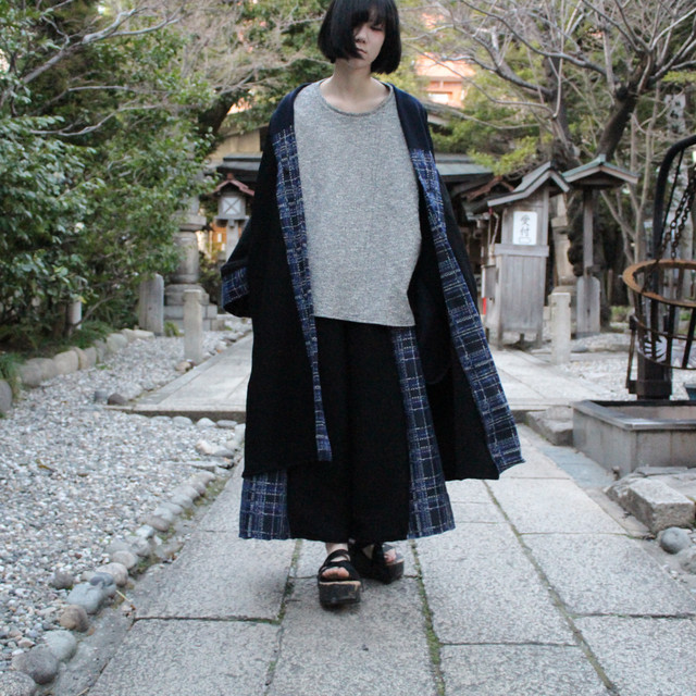 Haori (black/blue)