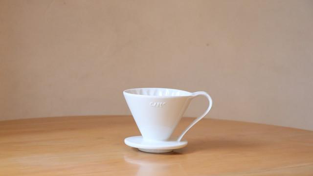 【ホワイト】フラワードリッパー(有田焼)2-4杯用