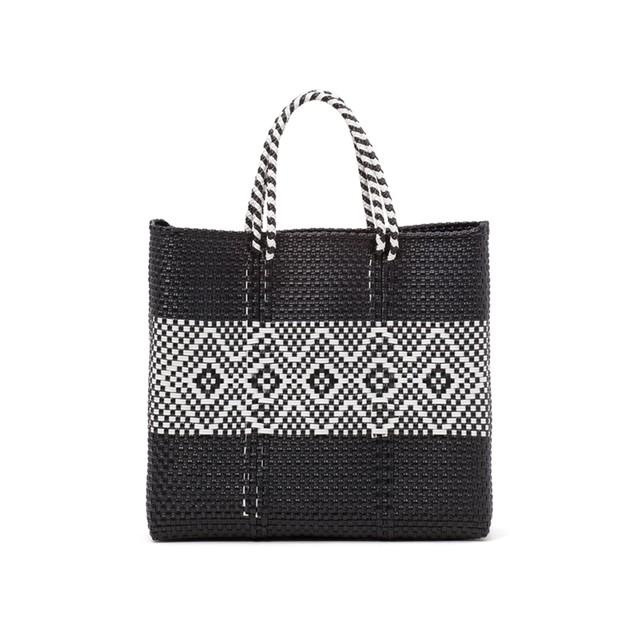 MERCADO BAG DIAMOND LINE-Black (S)