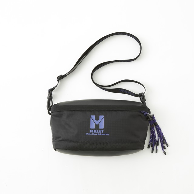 WM × MILLET MULTI SHOULDER BAG - BLACK