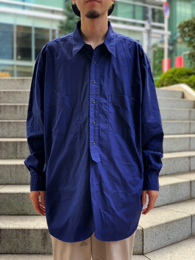 【Marvine Pontiak shirt makers】Round Tail 2Pocket SH