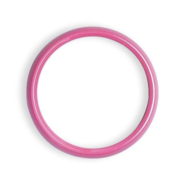 ゴーバッジ グリルバッジホルダー交換用リング(ピンク) - メイン画像