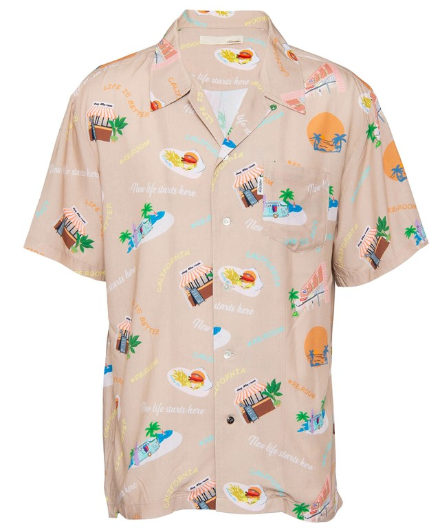 VINTAGE ORIGINAL ALOHA SHIRTS[RES038]