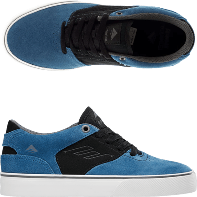 Emerica エメリカ Reynolds Low Vulc Blue/Black/White