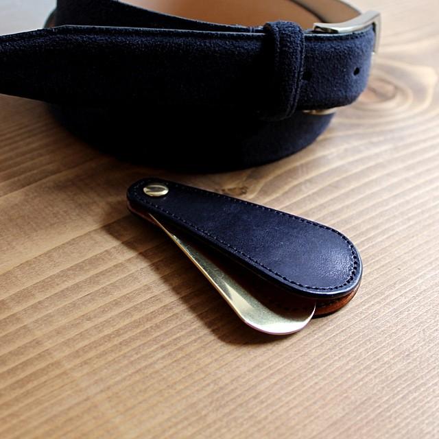 イタリアンレザー 靴べら