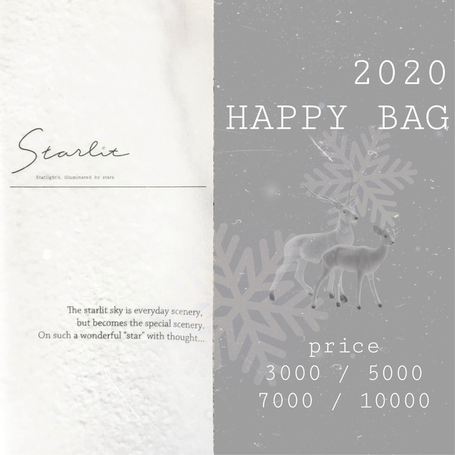 Happy bag 2020♡
