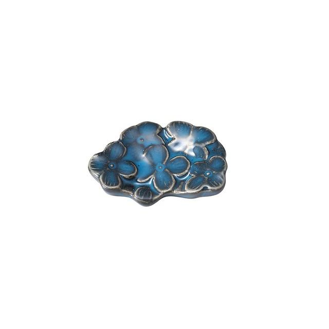 「リアン Lien」カトラリーレスト 箸置き ブルー 美濃焼 267819