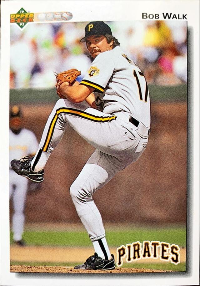 MLBカード 92UPPERDECK Bob Walk #619 PIRATES