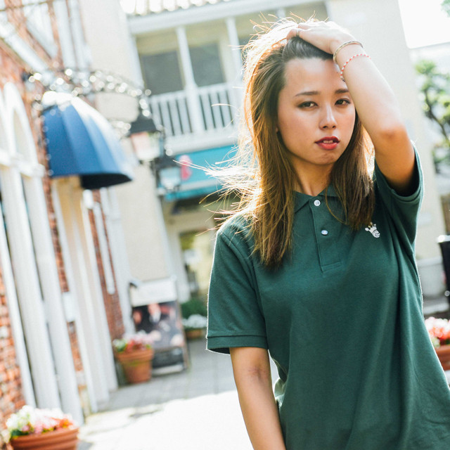 King Logo Polo-Shirt / Green - メイン画像