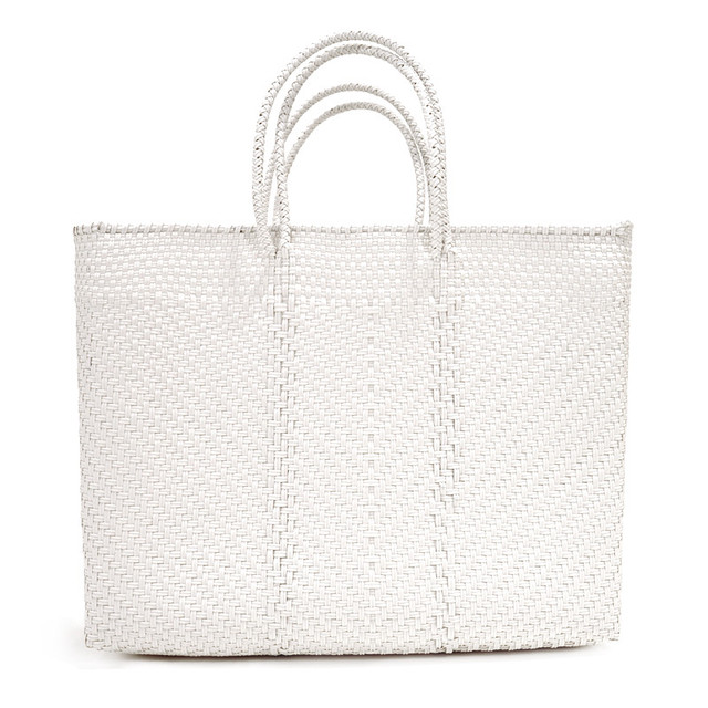 MERCADO BAG ESPIGA - White(L)