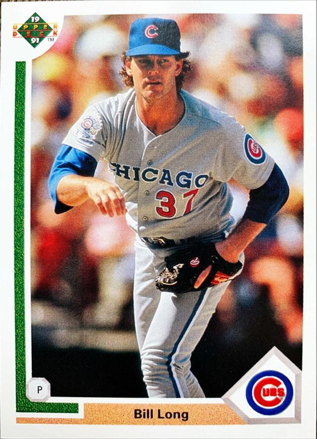 MLBカード 91UPPERDECK Bill Long #495 CUBS