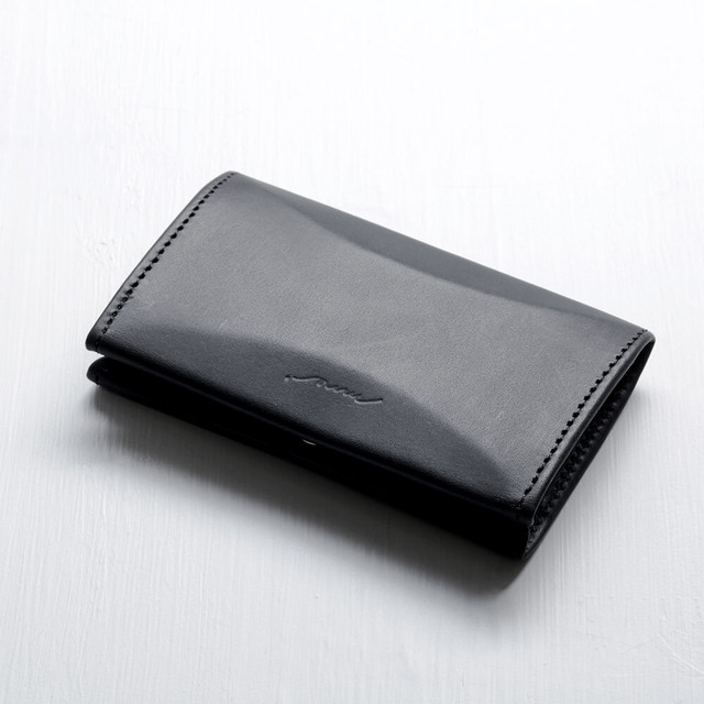 flutter coin case (black)