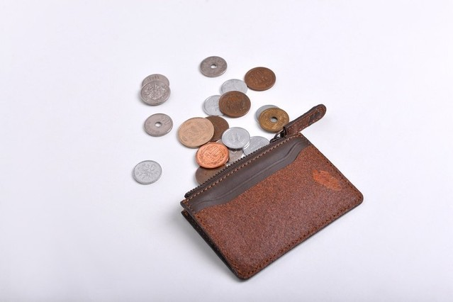 Fragrance Coin Holder Wallet-Chocolate