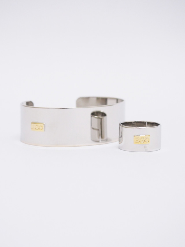 EGO TRIPPING (エゴトリッピング) STRAIT RING&BANGLE / SILVER 693658-98