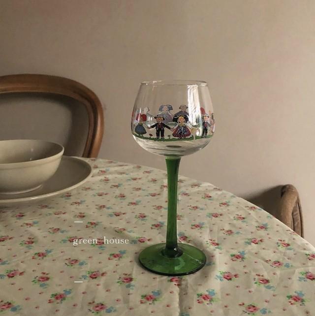 近日入荷予定 It's a Small World glass / グラス /  韓国インテリア / kr-56