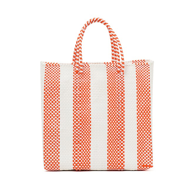 MERCADO BAG 4LINES-Orange (M)