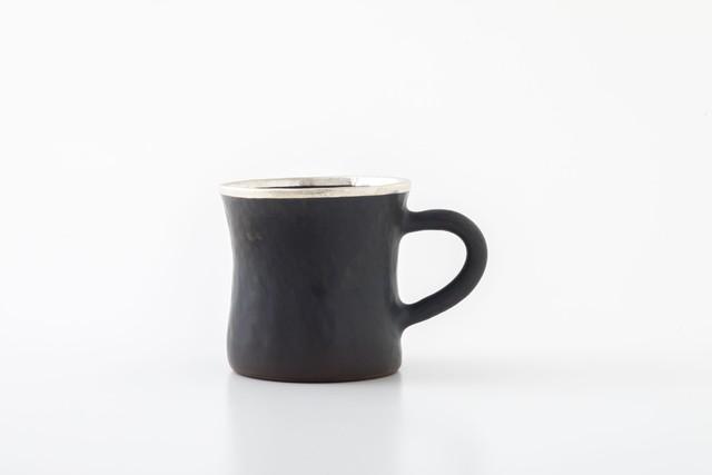 diner mug:銀縁(05-3) / holk store × 中囿義光