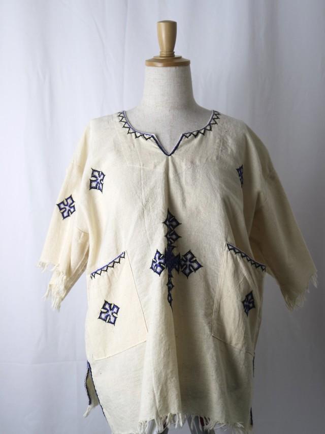 embroidery skipper tops【5637】
