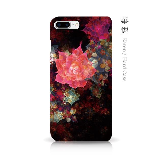 華憐 - 和風 iPhoneケース