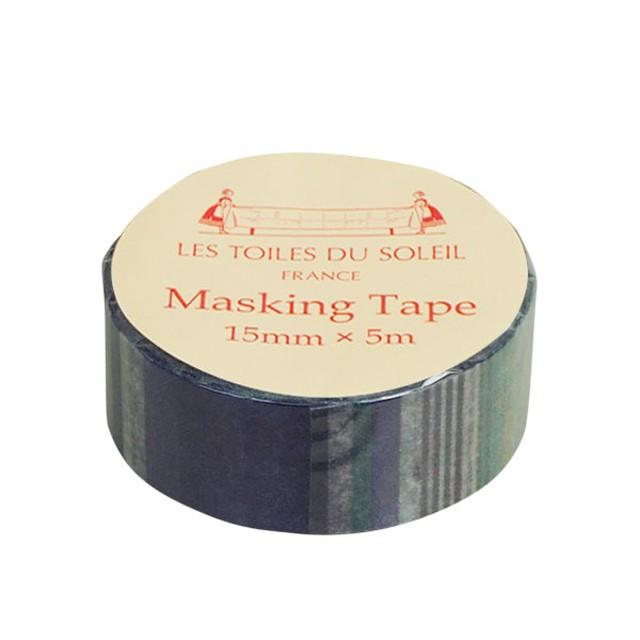 【LES TOILES DU SOLEIL】 マスキングテープ(サントラン ブラン ロア/SANTORIN Blanc Roy)