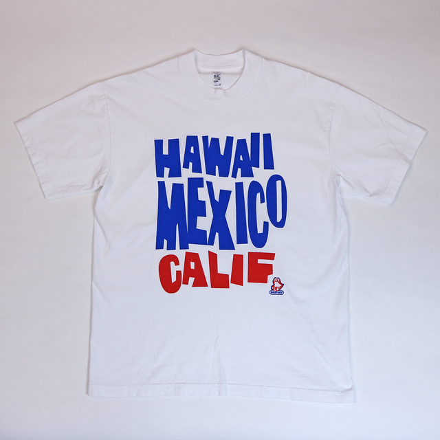HAWAII, MEXICO, CALIF (White)