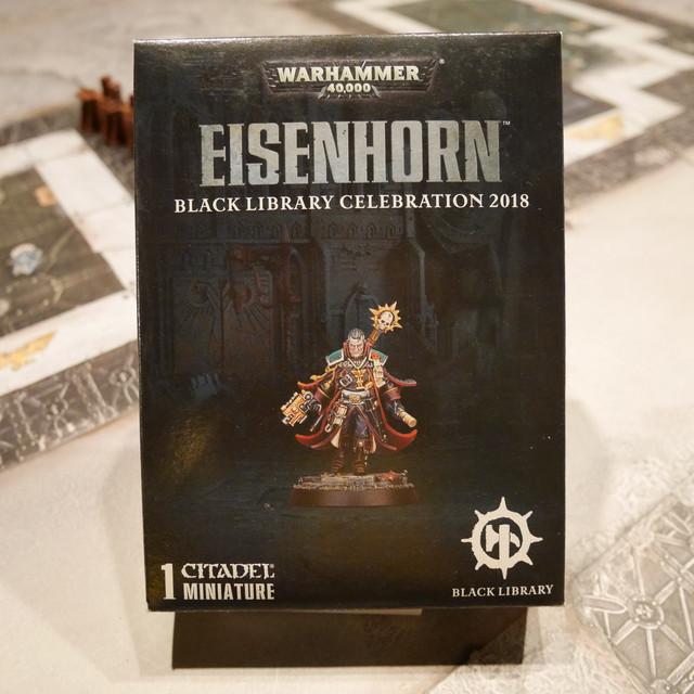 EISENHORN BLACK LIBRARY CELEBRATION 2018