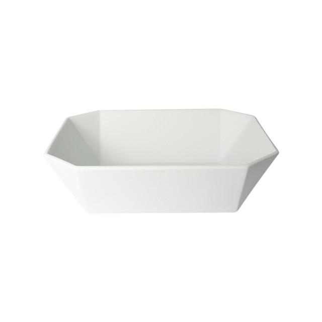 1616 / arita japan TY Square Bowl 150 Gray