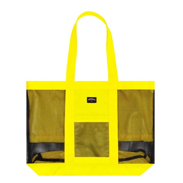 Expandable Mesh Tote(Yellow)