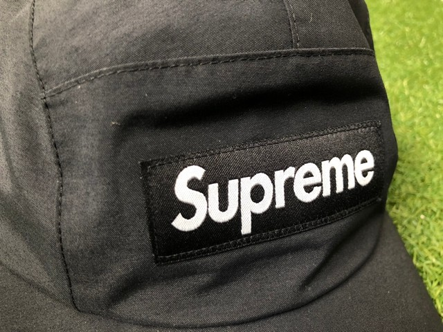 Supreme 20SS GORE-TEX LONG BILL CAMP CAP MEDIUM/LARGE BLACK 42.5JF6612