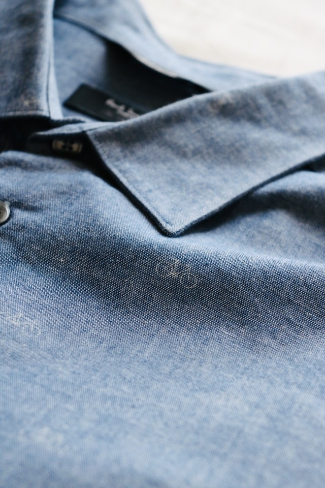 "Vintage ""Paul Smith"" bicycle pattern shirt"