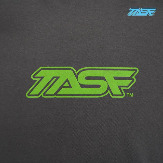 TASF  /   L/S Tee  / YodoRiver  /  Charcoal×Lime
