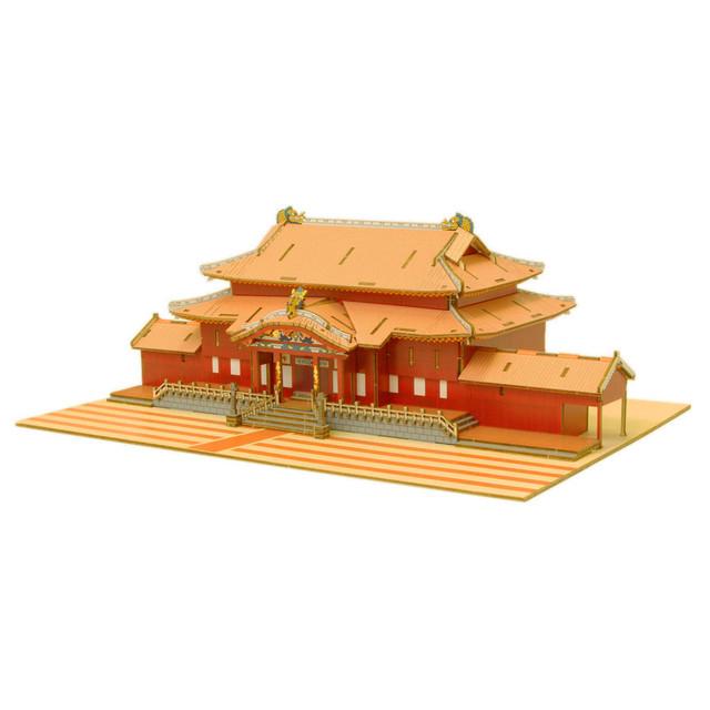 Wooden Art ki-gu-mi Living 首里城 カラーVer. (Shuri Castle color ver.)