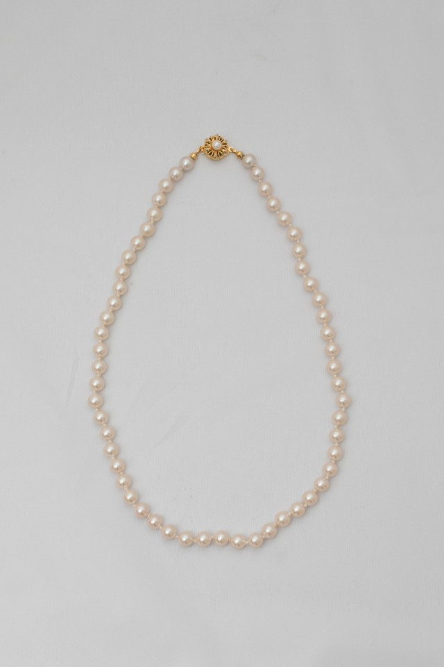 【Run Rabbit Run Vintage 】Pearl necklace