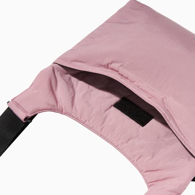 「WWL」クロスバッグ ピンク