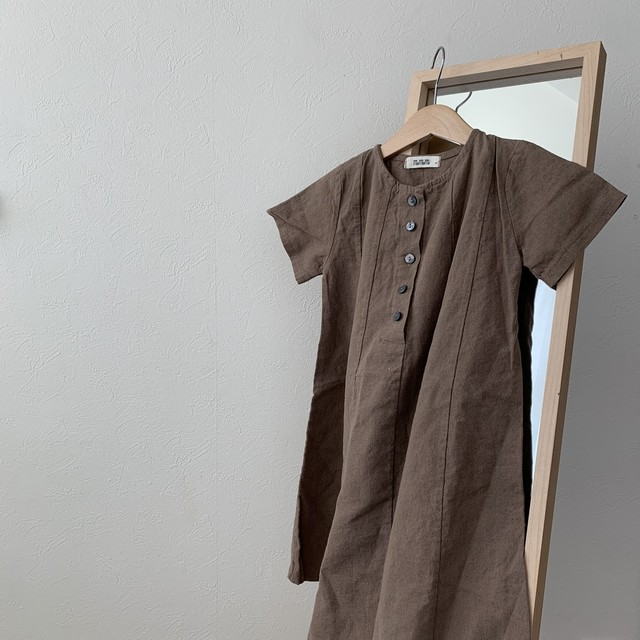 506. one-piece / brown