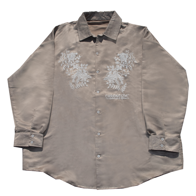 FLOWER EMBOIDEORY SHIRTS