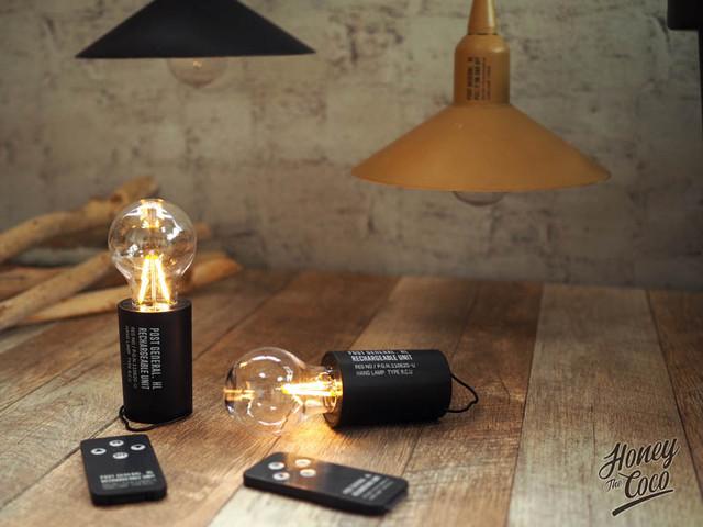 リモコン操作/USB充電式 ハングランプ リチャージャブルユニット タイプツー 【POSTGENERAL】