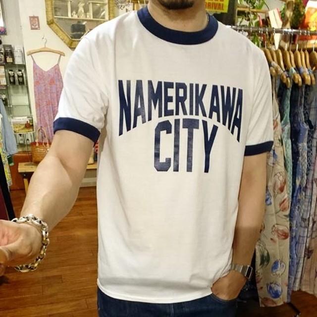 NAMERIKAWA CITY リンガーTシャツ【滑川市】